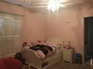 Before Pink Girl's Bedroom