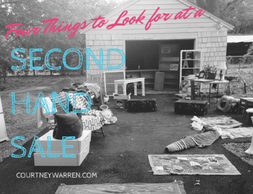 4 things not to miss at your next garage sale