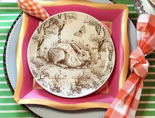 Everybunny Loves a Beautiful Spring Table–This Designer Does!
