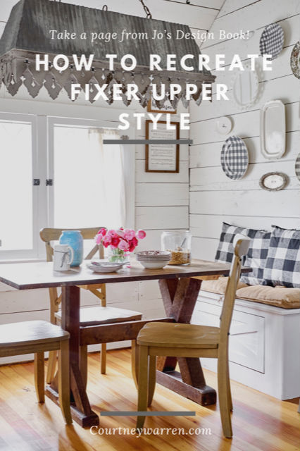 Taking A Page From Joanna Gaines Design Book Courtney Warren Home